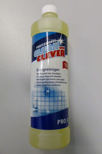 PRO3 Essigreiniger CLEAN and CLEVER  1 L+